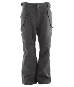 Ride Phinney Insulated Snowboard Pants Black Denim