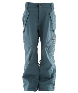 Ride Phinney Insulated Snowboard Pants Blue Spruce