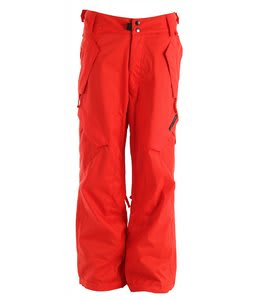 Ride Phinney Insulated Snowboard Pants Poppy Red