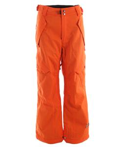 Ride Phinney Insulated Snowboard Pants Orange