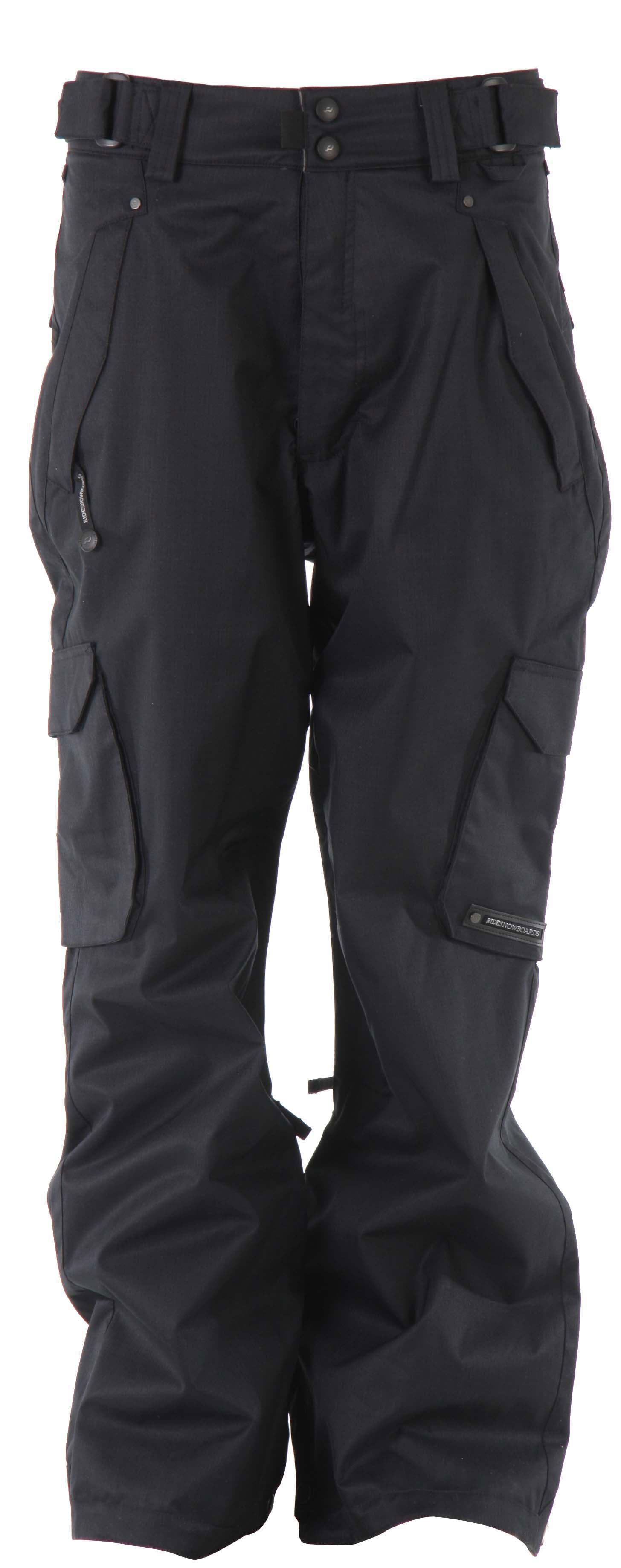 Shop for Ride Phinney Snowboard Pants Black - Men's