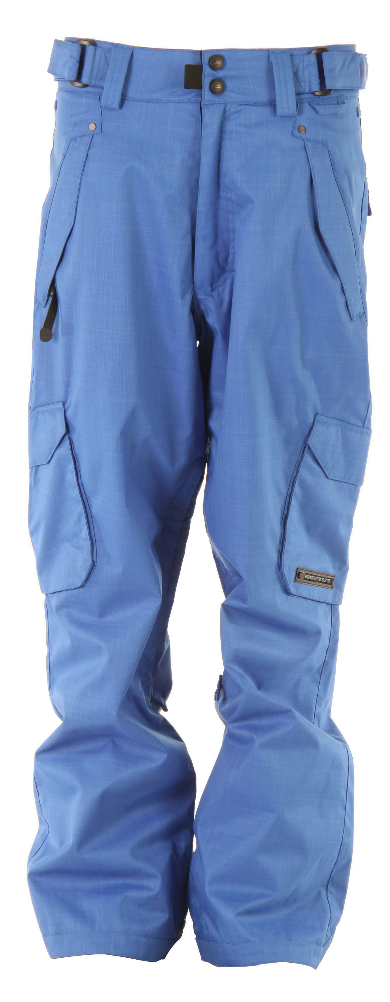 Shop for Ride Phinney Snowboard Pants Electric Blue - Men's