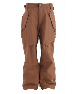 Ride Phinney Snowboard Pants Dark Orange Denim