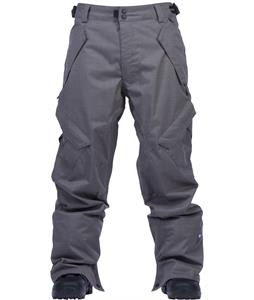Ride Phinney Snowboard Pants Gray Storm Herringbone