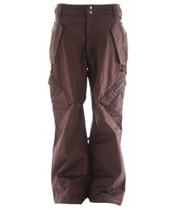 Ride Phinney Snowboard Pants Red Denim