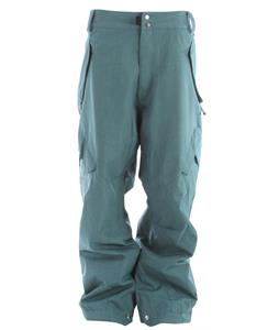 Ride Phinney Snowboard Pants Teal Denim