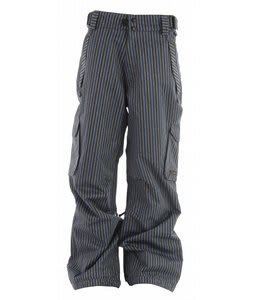 Ride Phinney Snowboard Pants Tri Stripe Denim