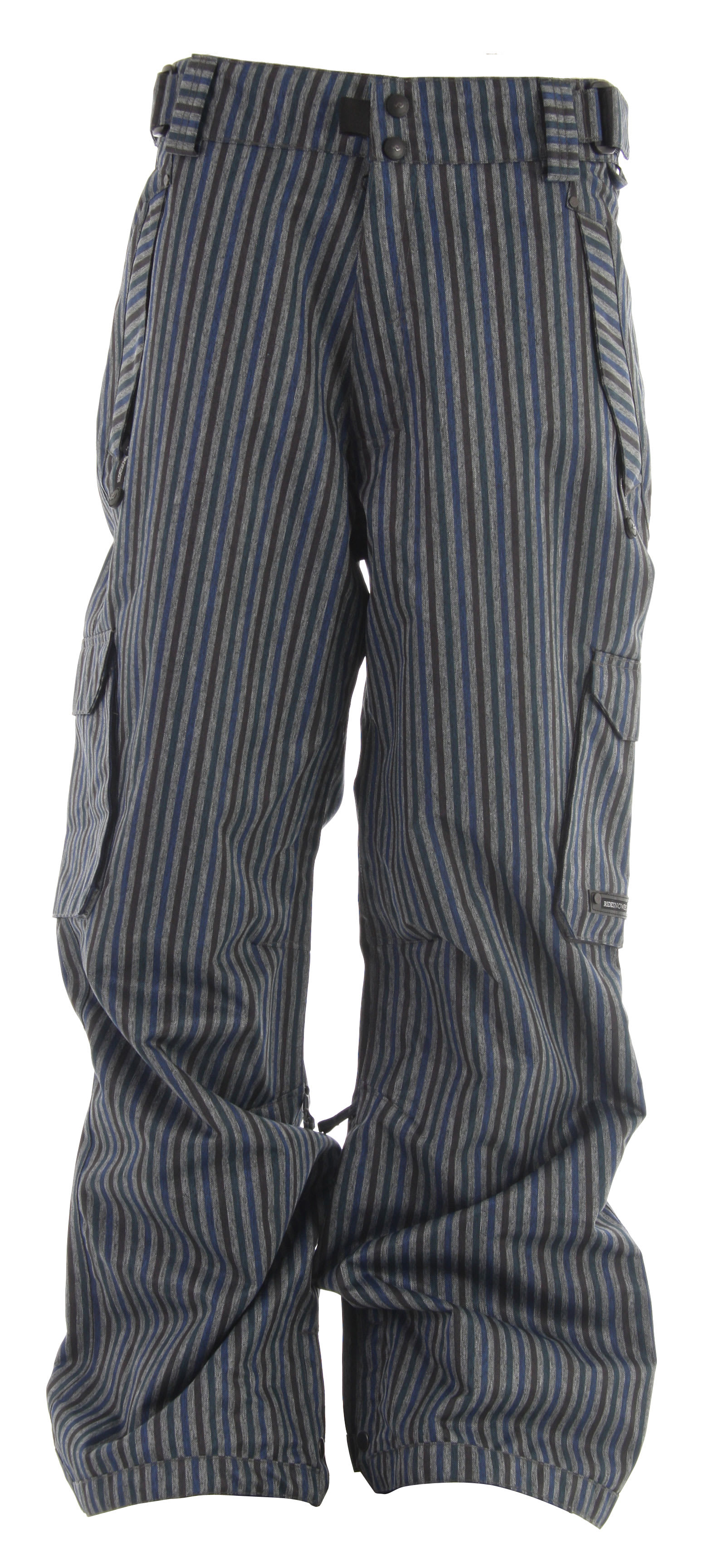 Shop for Ride Phinney Snowboard Pants Tri Stripe Denim - Men's