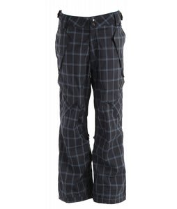 Ride Phinney Snowboard Pants Blue Spruce Window Pane Plaid