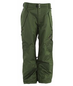 Ride Phinney Snowboard Pants Green Denim