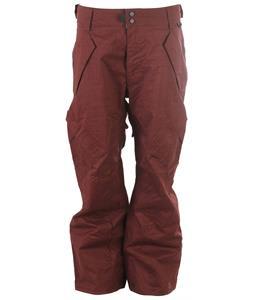Ride Phinney Snowboard Pants Dark Rosewood Herringbone