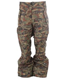 Ride Phinney Snowboard Pants Distorted Camo Print
