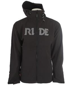 Ride Pike Bonded Fleece Softshell Black