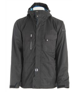 Ride Pioneer Snowboard Jacket Charcoal Denim