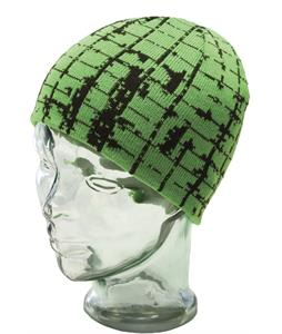 Ride Plaid Beanie Neon Green