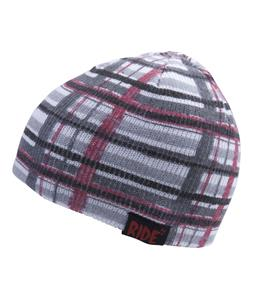 Ride Plaid Reversible Beanie Black