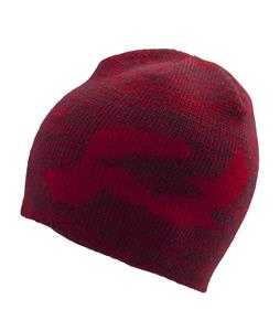 Ride R Logo Beanie Red Heather