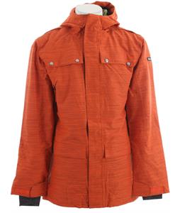 Ride Rainier Snowboard Jacket Dark Orange Slub