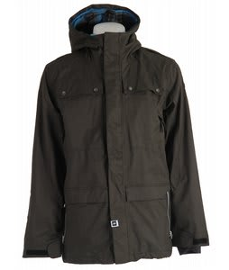 Ride Rainier Snowboard Jacket Blackened Forest