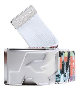Ride Reversible Webbing Belt White