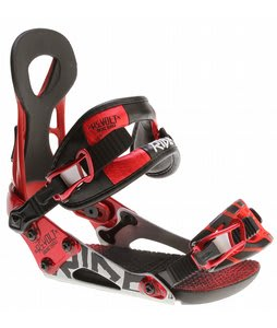 Ride Revolt Snowboard Bindings Red