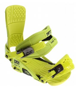 Ride Rodeo Snowboard Bindings Yellow