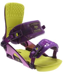 Ride Rodeo Snowboard Bindings Purple