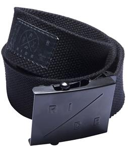 Ride Scout Webbing Belt Black
