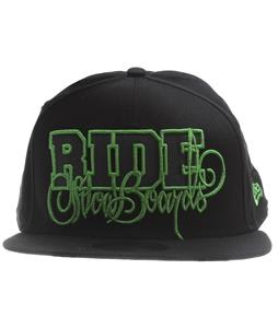 Ride Script New Era Cap Black