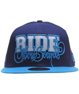 Ride Script New Era Cap Navy