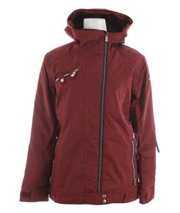 Ride Seward Snowboard Jacket Maroon Twill