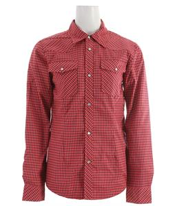 Ride Shacket Snowboard Jacket Coral Gingham