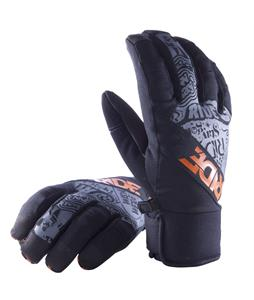 Ride Shorty Gloves Black