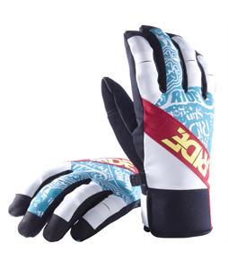 Ride Shorty Gloves White