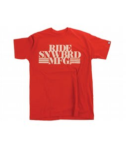Ride Slim MFG Logo T-Shirt Red