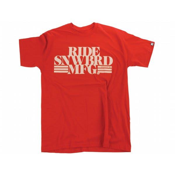 Ride Slim MFG Logo T-Shirt