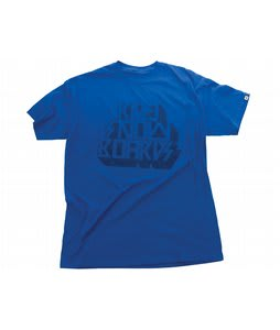 Ride Slim Logo T-Shirt Royal Blue