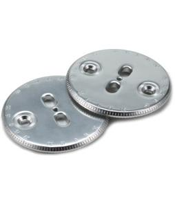 Ride Slot Compatible Kit Binding Discs Chrome