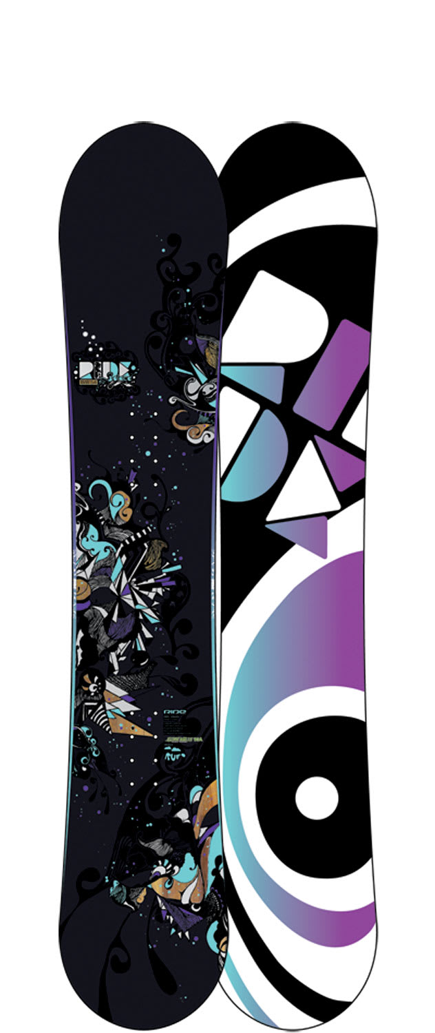 Shop for Ride Solace Snowboard 154 - Women's