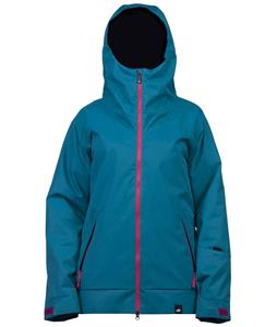 Ride Somerset Insulated Snowboard Jacket Dark Teal