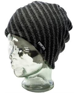 Ride Striped Reversible Beanie Black
