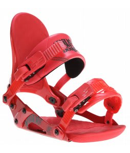 Ride VXn Snowboard Bindings Strawberry