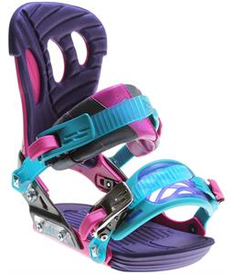 Ride VXN Snowboard Bindings Fuschia
