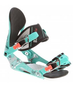 Ride VXN Snowboard Bindings Seafoam