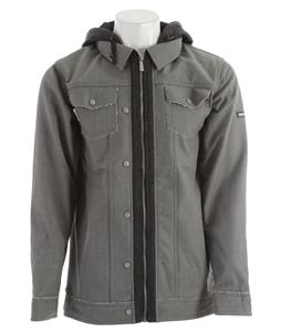 Ride Wallingford Softshell Light Gray Denim