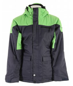 Ride Wedgewood Insulated Snowboard Jacket w/ Removable Hood Navy