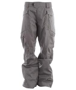 Ride Westlake Snowboard Pants Black Concrete Melange