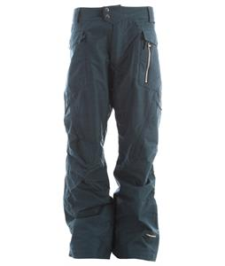 Ride Westlake Snowboard Pants Blue Marine Slub