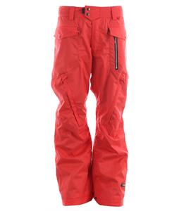 Ride Westlake Snowboard Pants Red Twill