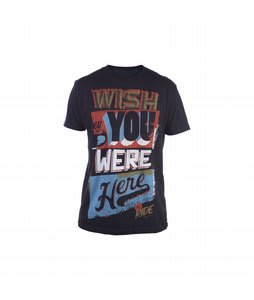 Ride Wish You Were Here T-Shirt Black